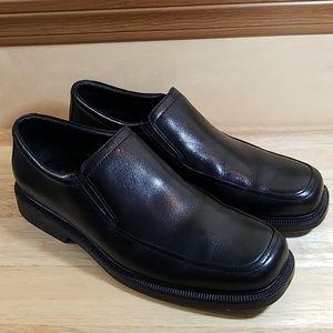 Bostonian Black Leather 2 Pod Comfort, sz 8M